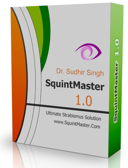 With help of squint simulator and calculator of Squintmaster Software the users can calculate surgical dose ( Amount of surgery)